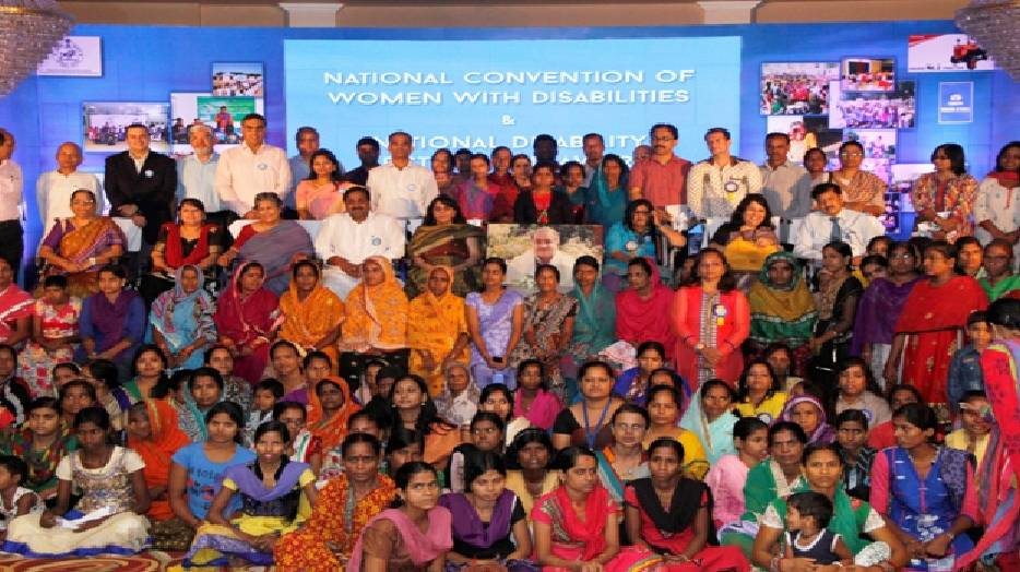 Group photo National Convention of Women with Disabilities